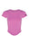 basiK• Corset Fitted T-Shirt in Pansy Pink