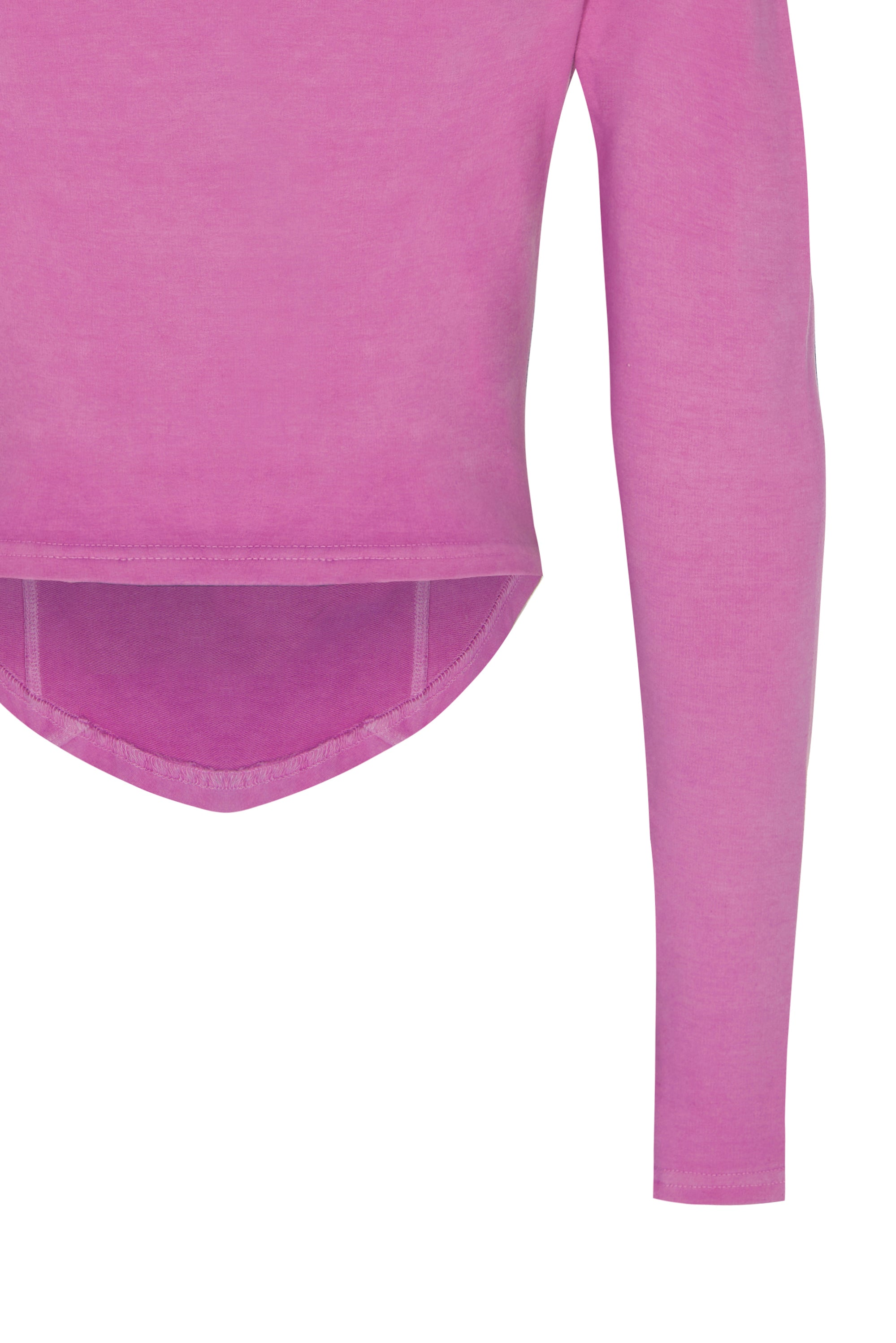 basiK• V-Neck Corset Top in Pansy Pink