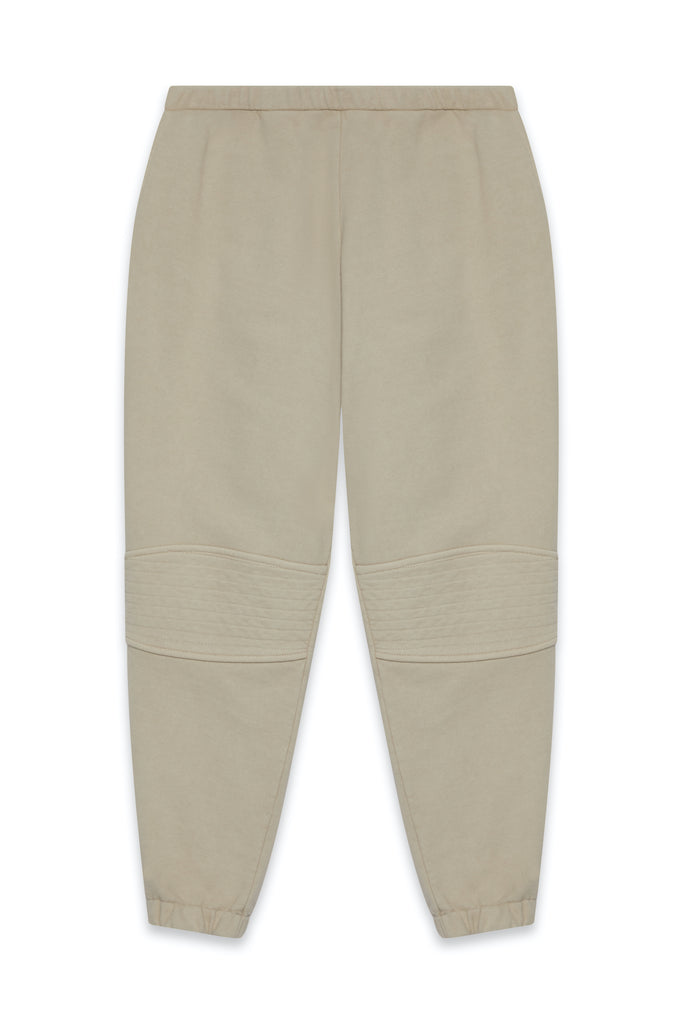 TONIK Slouch Panelled Joggers in Oatmeal