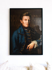 David Bowie Painting Print