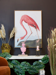Audubon Large Pink Flamingo Wall Art