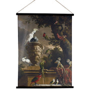 Kakemono Jungle Velvet Wall Hanging