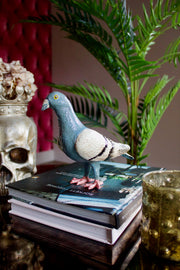 Percy Pigeon Cast Iron Decor