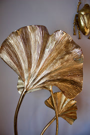 Ginkgo Leaf Gilded Table Lamp