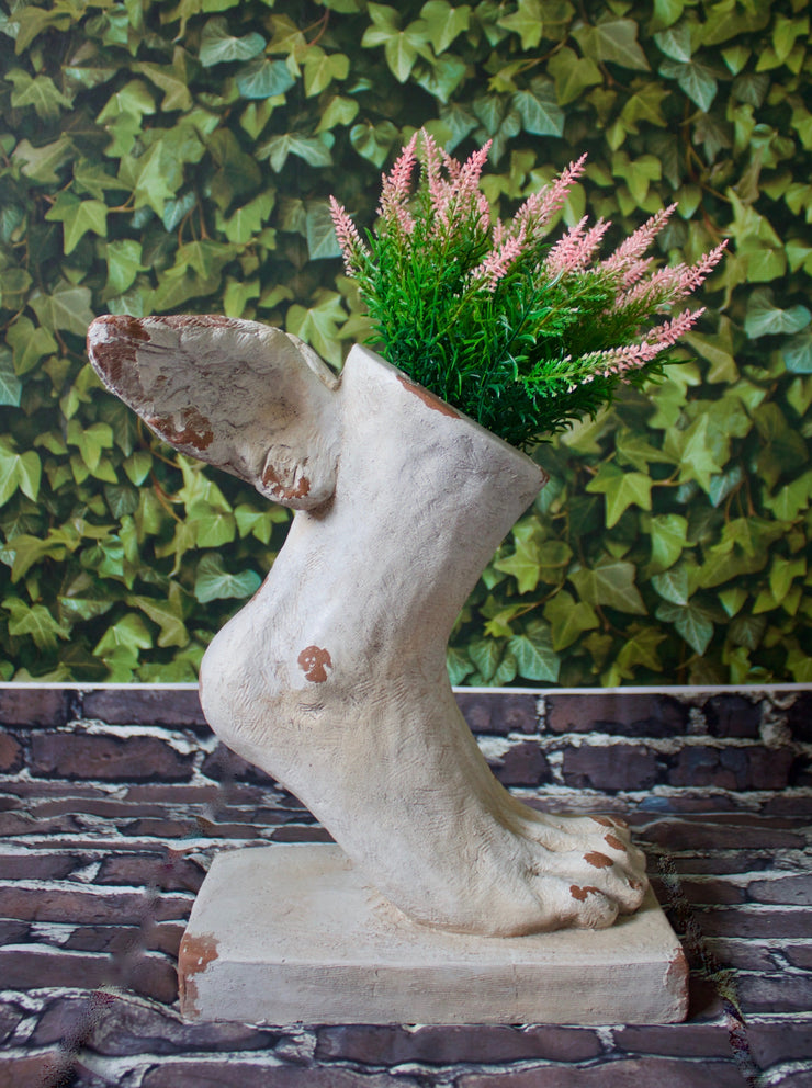 Winged Foot Planter - two sizes