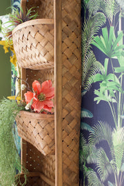 Woven Shelf with Three Tiers