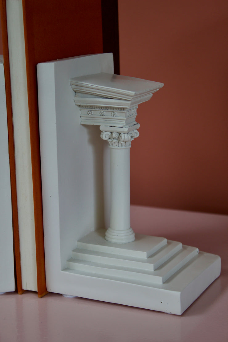 Roman Column Bookends