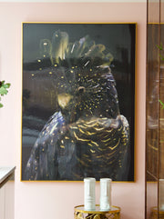 Giant Tropical Parrot Wall Art