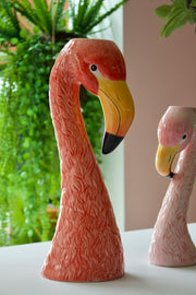 Flamingo Ceramic Vase
