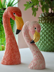 Flamingo Large Ceramic Vase