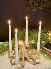 Octopus Candlestick Holder