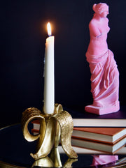 Glam Gold Banana Candle Holder