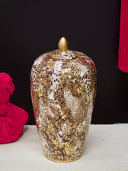 Luxury Leopard Large Jar