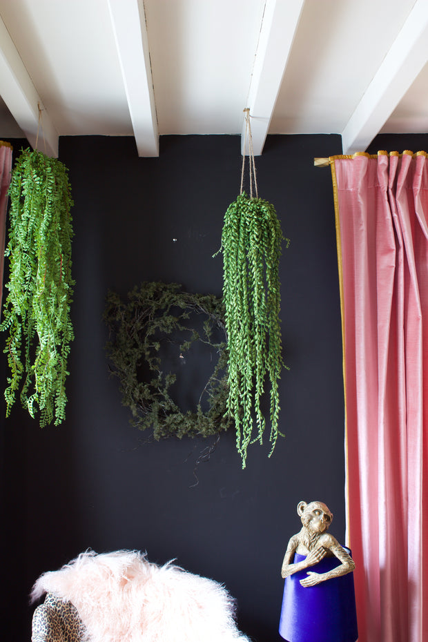 String of Pearls Artificial Hanging Arrangement