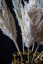 Beige Pampas Grass Spray