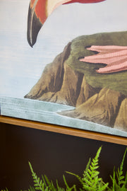 Large Pink Flamingo Wall Art