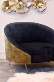 Leopard Love Velvet Occasional Chair