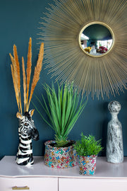 Faux Potted Yucca Plant