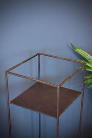 Nevada Black Metal Plant Stand