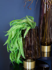 Trailing Artificial Large Green Fern Spray