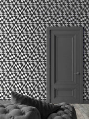 Black Geometric Cubes Wallpaper By Emanuele Pangrazi