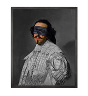Blindfold -5 Framed Printed Canvas