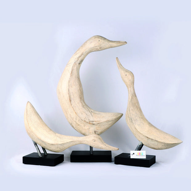 Wooden Birds Set