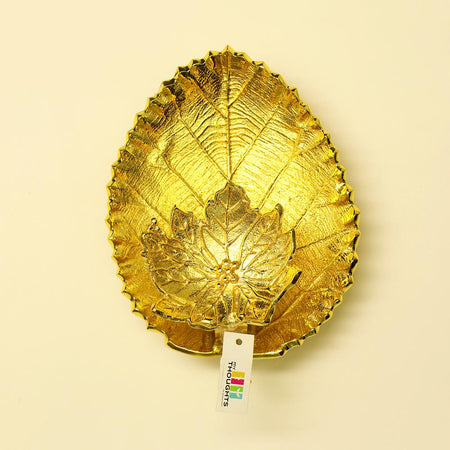 Golden Leaf Wall Lamp
