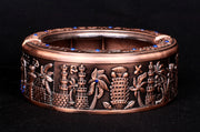 Egyptian Copper Ash Tray