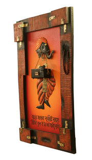 Ethnic Ganesh Wall Sculpture
