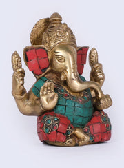 Seated Ganpati Bappa