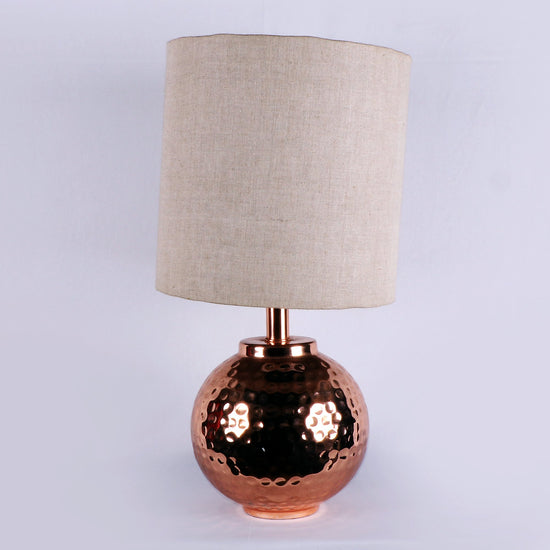Aluminium Ball Copper Finish