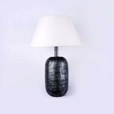 Iron Cylinder Black Lamp