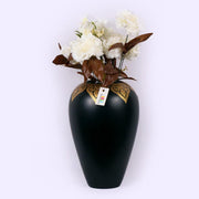 Royal Gold Wooden Vase