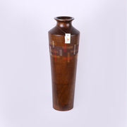 Thailand Light Brown Wooden Vase