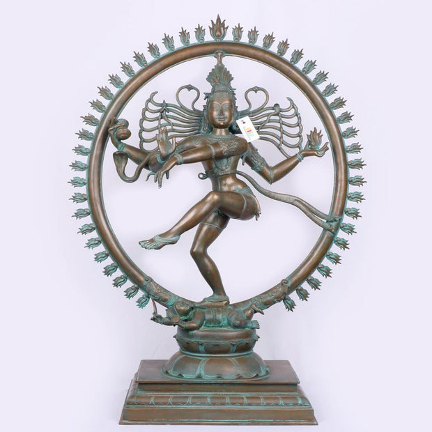 Exclusive Natraj Bronze Statue