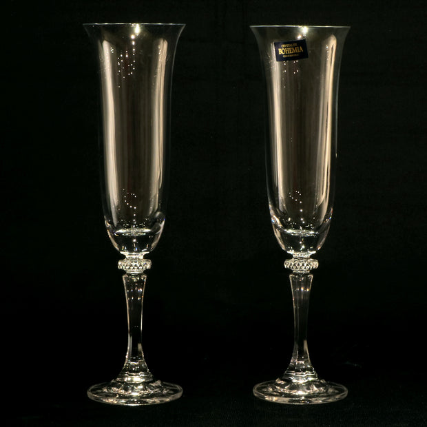 Elegant Wine Glass Set - Bohemia (Europe)