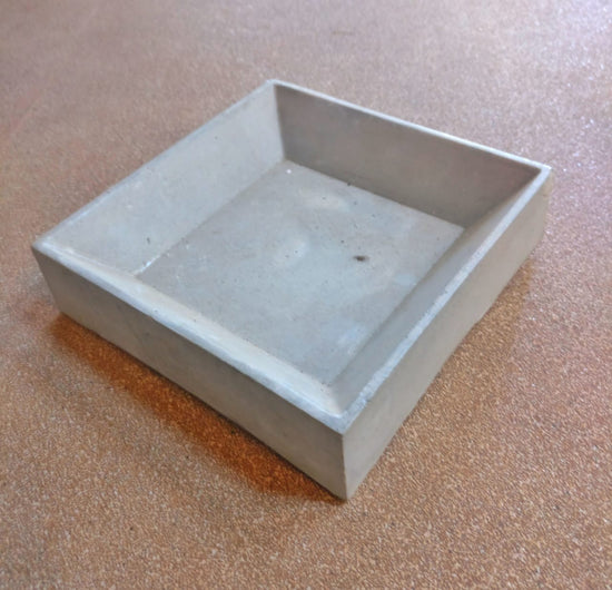Square Cement Tray