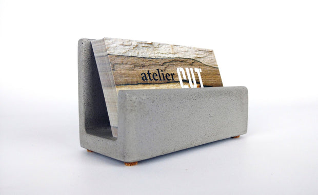 U Business Card Holder