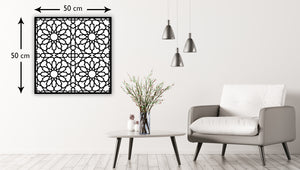 Islamic Geometric Acrylic Wall Decor – SQUARE