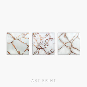 BE! AND IT IS! - MINI - ROSE GOLD SET |PRINT