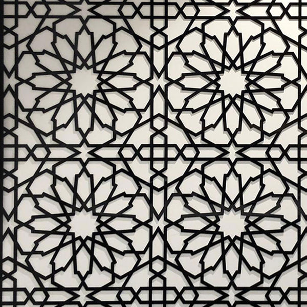 Islamic Geometric Perspex Wall Decor – SQUARE
