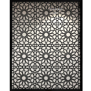 Islamic Geometric Perspex Wall Decor – RECTANGLE