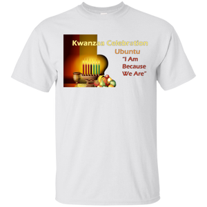 KWANZAA CELEBRATION - UBUNTU (various colors)
