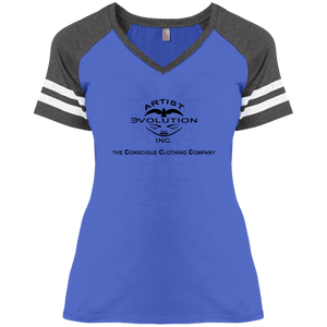 ARTIST EVOLUTION [CCC] Disctrict Ladies' Game V-Neck (various colors)