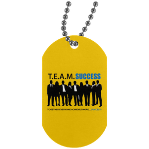 T.E.A.M. SUCCESS - Team Soldier Tag
