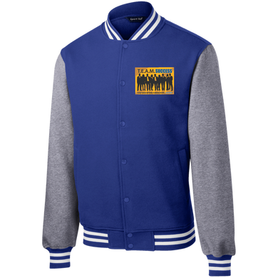 T.E.A.M. SUCCESS Sport-Tek Fleece Letterman Jacket (various colors)