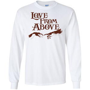 LOVE FROM ABOVE [BROWN] LS (various colors)