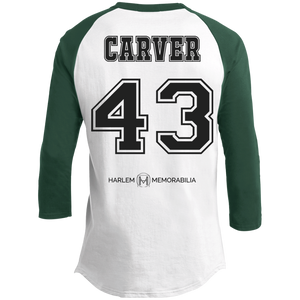 HARLEM MEMORABILIA - CARVER 43 Sporty T-Shirt [2 Sided] (various colors)