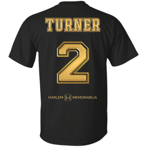 HARLEM MEMORABILIA [GOLD] - TURNER 2 [2 Sided]